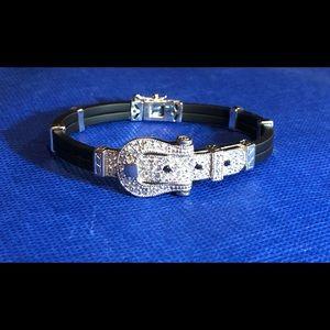 Jewelry - VINTAGE 925 Silver Buckle Bracelet